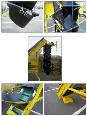 Tong Peal Solo-Fill Big Bag Filler